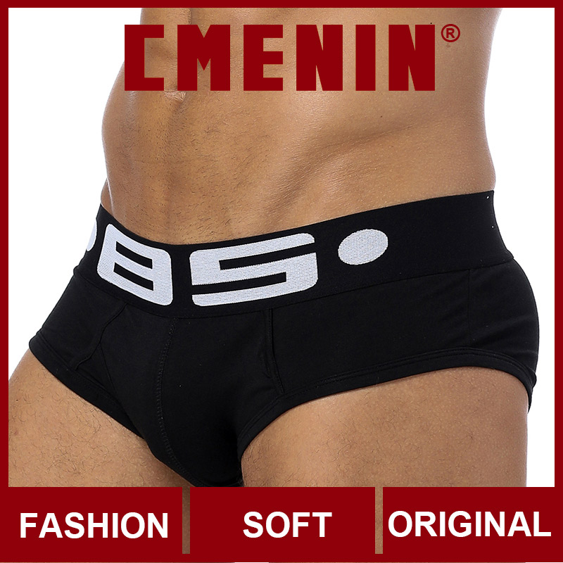 BS Cotton Low Waist Mens Briefs Underwear Shorts CMENIN Sissy Patchwork Male Underwear Sexy Gay Men Underwear Bikini Men Briefs