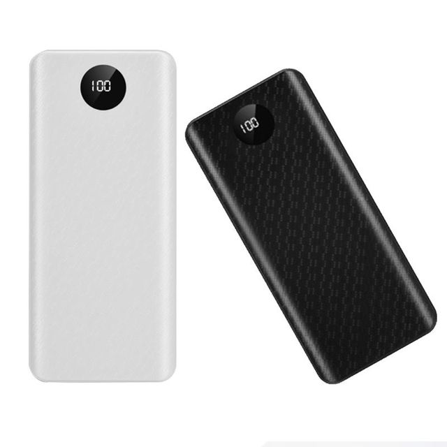 Diy Qc 3.0 Power Bank Case Quick Charge 3.0 Externe Batterij 18650 Fast Charger Box Shell Kit Accessoires