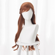 Anime Cosplay Wigs Princess Anna Wig Heat Resistant Synthetic Hair Halloween Party Women