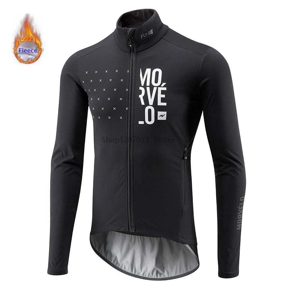 Bike Clothing Cycling-Jersey Bicycle Morvelo Long-Sleeve Pro-Team Winter Outdoor Men title=