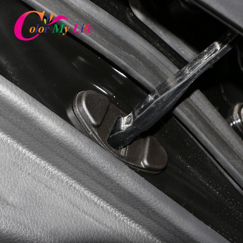 Car Arm Buckle Decor Protect Door Lock Stopper Limiting Cover For Renault Koleos Kadjar Captiva Espace V For Samsung QM5 QM6