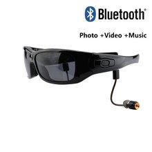 Mini Bluetooth occhiali da sole occhiali videoregistratore digitale occhiali fotocamera Mini videocamera Video occhiali da sole DVR grandangolo 120 1080