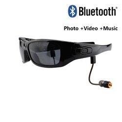 Mini Bluetooth Sun Glasses Eyewear Digital Video Recorder Glasses Camera Mini Camcorder Video Sunglasses DVR Wide Angle 120 1080