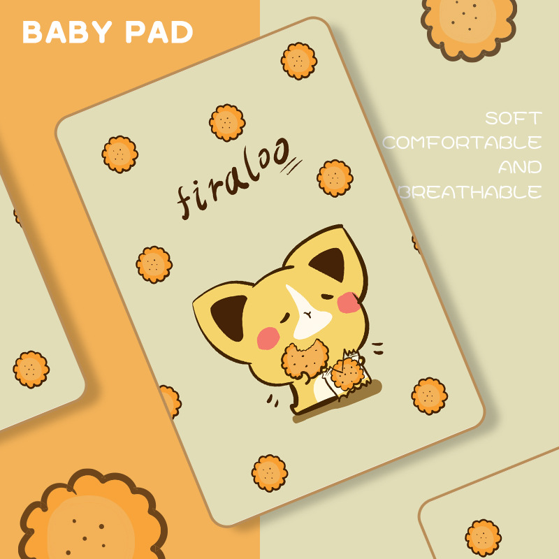 Cute Baby Mattress Changing Mat Newborn Kids Diaper Waterproof Infant Bedding Cover Soft Girls Boy Nappy Urine Pad Breathable | Happy Baby Mama