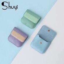 Женский кошелек карамельных цветов модная сумочка из искусственной