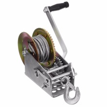 Heavy Duty 3500LBS Boat Truck Auto Hand Manual Winch Smooth Action Ratcheting Handle Easy Pulling Lifting Sling