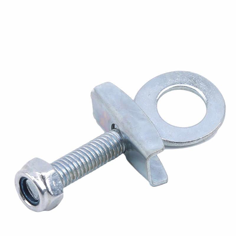 Silber Kleine Fahrrad Reparatur Werkzeuge Reißverschluss Schraube Zipper Spannen Kette Feste Hinterachse Pull Code Fahrrad Zubehör
