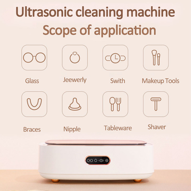 12V Ultrasonic Cleaner Glasses Cleaning Machine Jewelry Watch Cleaner Cleaning Device Ultraschallreiniger Pulitore ultrasonico