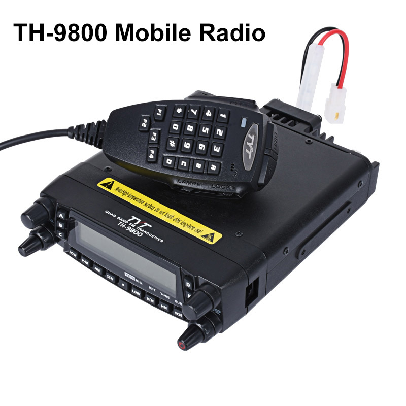 <font><b>TYT</b></font> <font><b>TH</b></font>-<font><b>9800</b></font> Car Radio Walkie Talkie 50km Quad Band 29/50/144/430MHz CB Radio Station <font><b>TH</b></font>-<font><b>9800</b></font> Mobile Radio Transceiver Repeater image