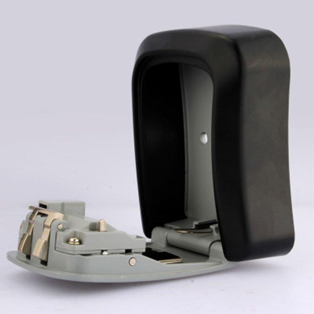 Hot Sale Wall Mounted Key Storage Box 4 Digit Combination Password Spare Keys Organizer Box Metal Security Key Box