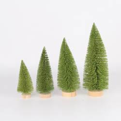 Напрямую от производителя продажа нового стиля Рождественские украшения Рождественские настольные украшения светло-зеленая сосновая