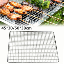 Grilling Basket Barbecue-Tool-Accessories Bbq-Grill-Pad Picnic Portable Non-Stick Bbq-Net