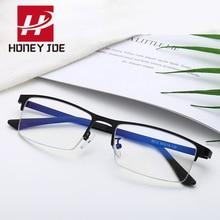 Gafas para juegos de ordenador con marco de Metal Vintage con cristales de luz azul para mujeres y hombres gafas de gafas ópticas lentes transparentes UV400