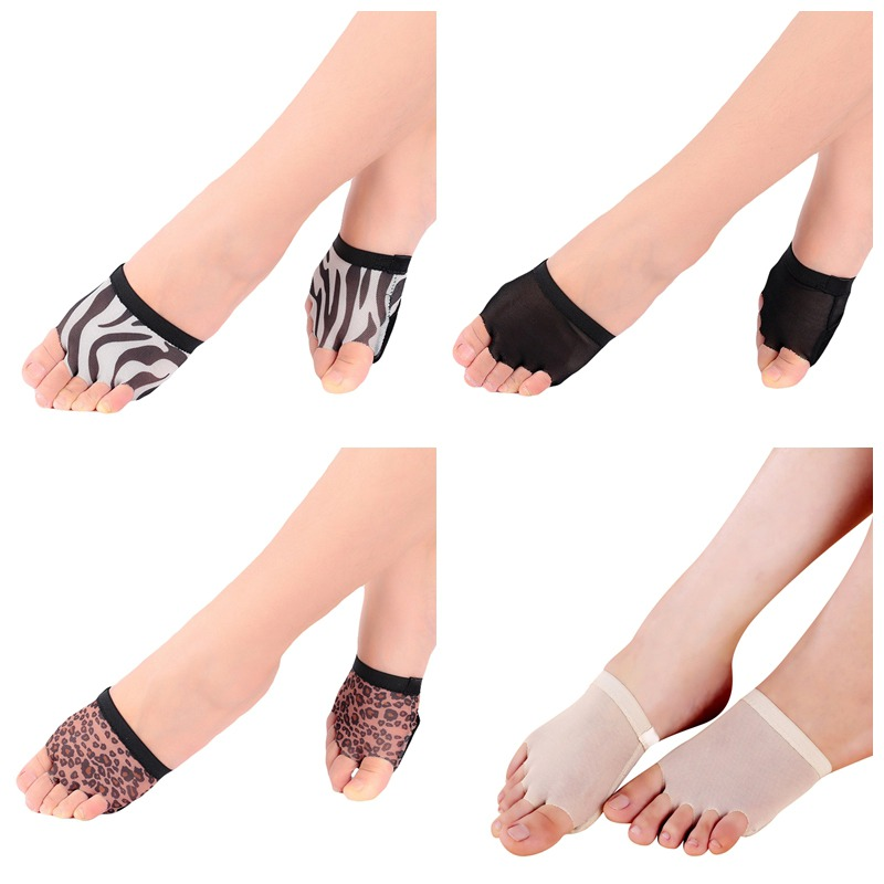 1 Pair Foot Thong Toe Undies Dance Paws Half Lyrical Ballet Shoe Forefoot Cover Dancing Toe Sleeve Forefoot Cushion Cover