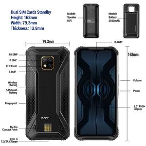Image 4 - Nuovo telefono cellulare robusto modulare DOOGEE S95 Pro 8GB 128GB Helio P90 Display da 6.3 pollici 5150mAh Octa Core 48MP fotocamera Android 9