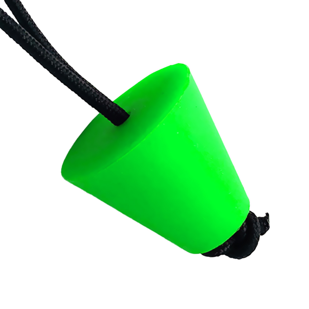 4Pcs Green Universal Kayak Scupper Plug Kit, Rubber Canoe Boat Hull Stoppers With Pull String