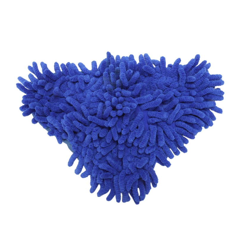 EASY-Washable Replacement Microfiber Steam Mop Pads for Chenille X5/H20 (Blue)