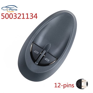 500321134 93952636 49590 Electric Window Regulator Winder Double Switch Button For IVECO DAILY 2000-2006 New