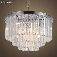 Clearance Sale Crystal Chandelier Lighting Crystal Hanging Lamp Restaurant Living Dining Room Chandelier Light with K9 Crystals