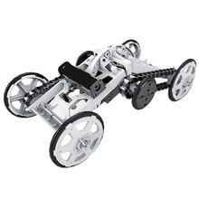 Научная и образовательная сборка, сборные строительные блоки, электрические внедорожные скалолазание, четыре колеса, космическая игрушка