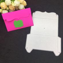 Металлические Вырубные штампы в форме конверта для скрапбукинга