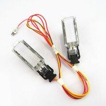 Car Warning light Trunk Interior Welcome lamp + Wire Plug 8KD947415C For VW Sharan Phaeton A5 A6 S6 A8 Q5 Q7 R8 Yeti S4 S5
