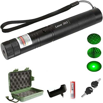 Hunting Light High Power 10Mile Green Laser Pen Pointer 5mw 532nm Cat Toy Military Powerful Laser Pen Adjust Focus + Charger most powerful military 100w 100000m 532nm green laser pointer pen flashlight lazer light focus burning burn cigarettes hunting
