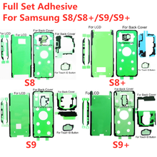 5Set Full LCD screen Front Adhesive Back Cover Tape For Samsung Galaxy S10 5G S9 S8 Plus S7 Edge Note 9 8 Battery Camera Sticker