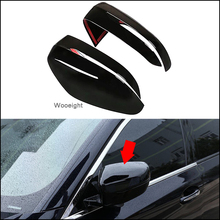 Wooeight 2Pcs Bright Black Car Side Rearview Mirror Cover Cap Trim Fit for BMW 5 Series 2018 2019 3 2020