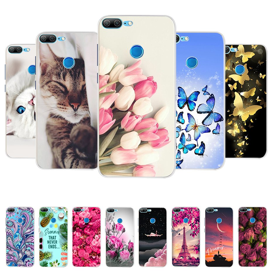 For Huawei Honor 9 Lite Case Cover Soft Silicone Cute Case For Honor 9 Lite Phone Case Back Cover Honor 9 Lite Case Coque Bumper