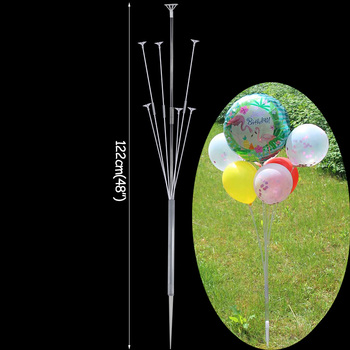 LED Light Air Balls Balloon Stand Column Wedding Table Decoration Balloons Holder Christmas Baloon Baby Shower Birthday Party 30