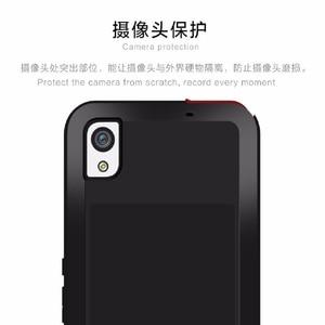 Image 3 - Gorilla glass металлический противоударный чехол для Sony Xperia XA1 Plus XA1 XA2 XA Ultra XA XA1 XA2 чехлы для телефонов Металлический Алюминиевый Чехол