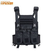 EXCELLENT ELITE Hunting Vests Outdoor Tactical Plate Vest+AK 47 Triple Ammo Clips Military Vest Tactical Military Vests(China)