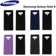 อย่างเป็นทางการ Samsung แก้วฝาหลังแบตเตอรี่ด้านหลังเปลี่ยนส่วนกาวเครื่องมือสำหรับ Samsung Galaxy หมายเหตุ9 N960