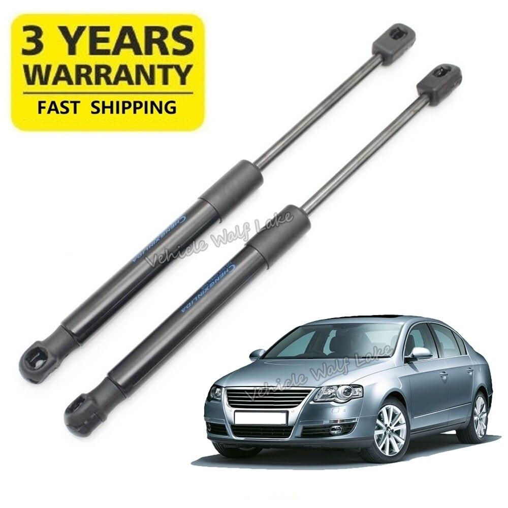 2 pièces pour VW Passat B6 3C berline 2006 2007 2008 2009 2010 2011 voiture-style jambe de force hayon ressort de levage Support gratuit aussi