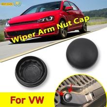 2X Car Front Windscreen Wiper Arm Nut Cap Bolt Cover For VW Passat B5 B6 B7 Golf MK4 MK5 MK6 MK7 Polo Jetta Tiguan cheap MISIMa Plastics 1inch ISO9001 0 02kg