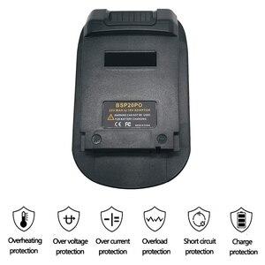 BSP20PO адаптер батареи для Black Decker/Stanley/Porter кабель 20 в литий-ионная батарея используется конвертировать для Porter кабель PC18BL