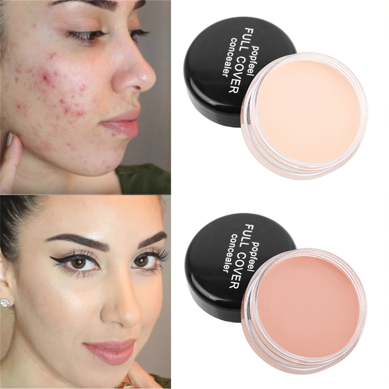 Face Makeup Concealer Cream Full Cover Scars Acne Cover Smooth Eye Lip Contour Color Correction Liquid Foundation Concealer image