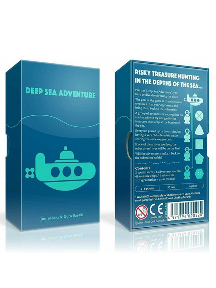 New Full English Deep Sea Adventure Tarot Cards Deck Board Game Party Entertainment Desk Game Cards