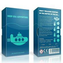 Nuevo juego de cartas de Tarot de aventura en el mar profundo en inglés
