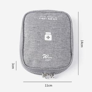 Портативный Аптечка аварийная медицинская коробка открытый путешествия Кемпинг оборудование ткань Оксфорд медицинская сумка аптечка контейнер