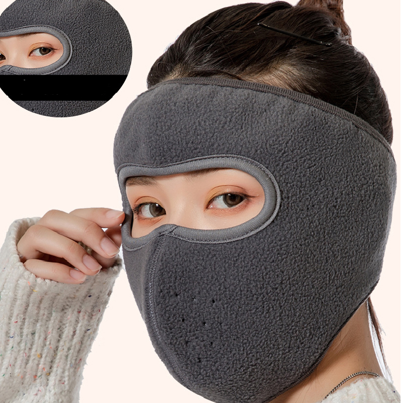 Winter Soft Ear Protector Forehead Masks Simple Mask For Men Women Windproof Warm Mask Winter Cycling Earmuffs Outdoor Ear Muffs