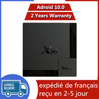 Miglior iptv box X96 mate 4G 64G Android 10.0 TV Box Allwinner H616 X96mate 4G 32G smart ip tv set top box nave dalla francia