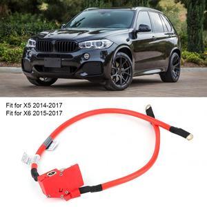 Image 1 - Auto Positieve Batterij Kabel 61129322056 OEM Replacemnt Past voor X5 2014 2017 auto batterij terminals bornes bateria