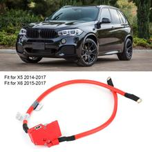 Auto Positive Batterie Kabel 61129322056 OEM Replacemnt Passt für X5 2014 2017 auto batterie klemmen bornes bateria