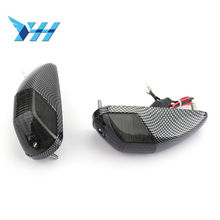 Motorcycle Parts Flash Turn Signals for Kawasaki ZX ZX14 ZX14R ZZR1400 2006 2007 2008 2009 Clear