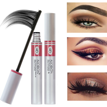 Mascara Black 3D Fiber Tube Single Eyelash Natural Curl Extended Quick Makeup