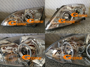Image 3 - Voor Honda CR V Crv Iii 2006 2007 2008 2009 2010 2011 Xenon Koplamp Rf Afstandsbediening Bluetooth App Multi color rgb Led Angel Eyes Kit
