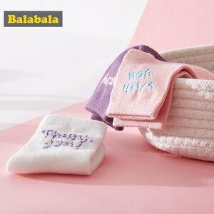 Image 3 - Balabalaเด็กถุงเท้าฤดูใบไม้ร่วงถุงเท้าเด็กหญิงBreathableฝ้ายหวานสามคู่