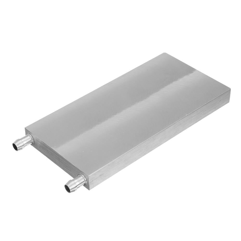 80x160x15mm Aluminum Water Cooling Block For CPU Semiconductor Cooling Radiator Heatsink